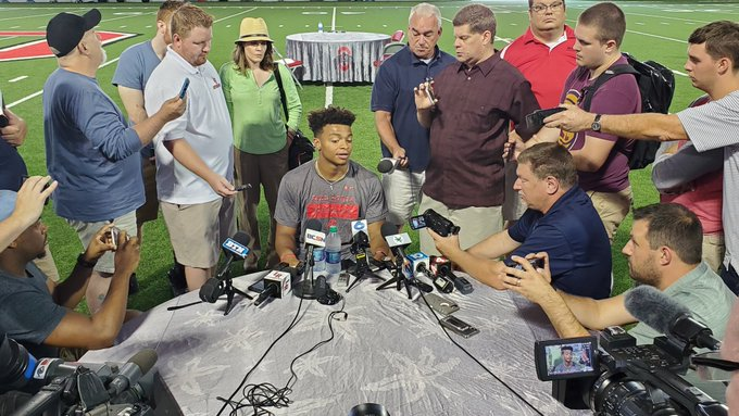 Ohio State football Justin Fields interview