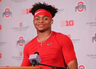 Ohio State football Justin Fields