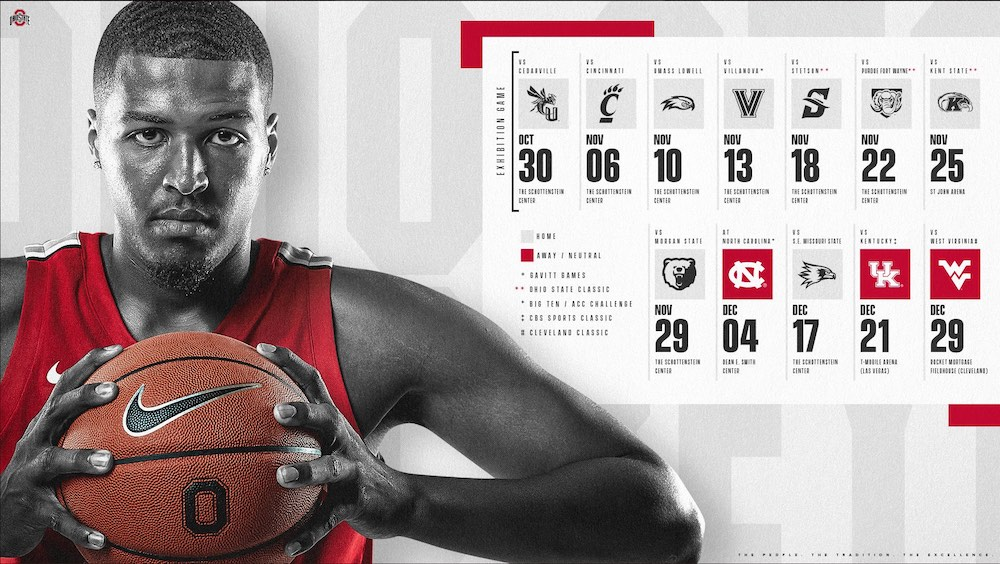 Ohio State Basketball Schedule 2019-2020