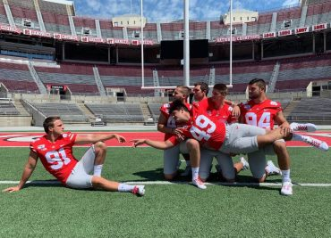 Ohio State football Drue Chrisman Liam McCullough Roen McCullough