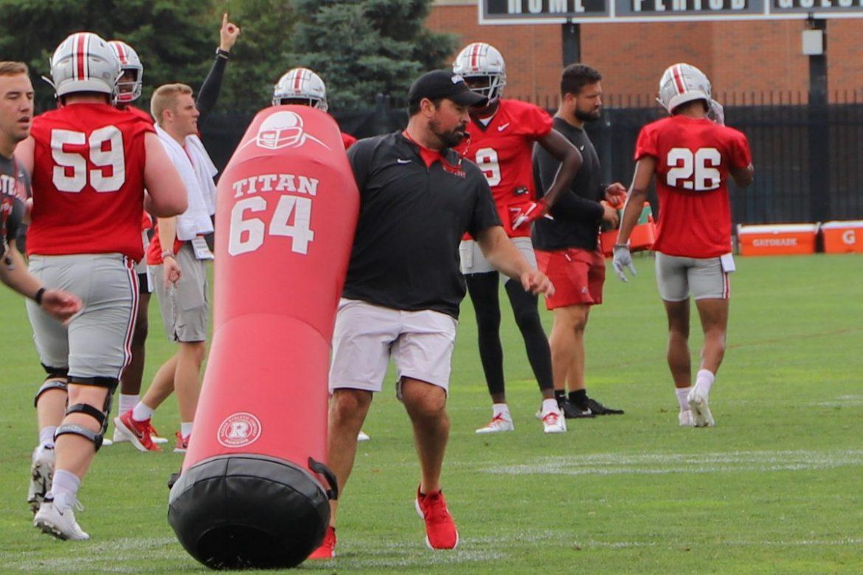 Ryan Day Ohio State Buckeyes Coach Practice