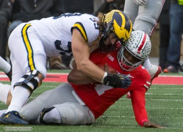 Ohio State football Targeting penalty