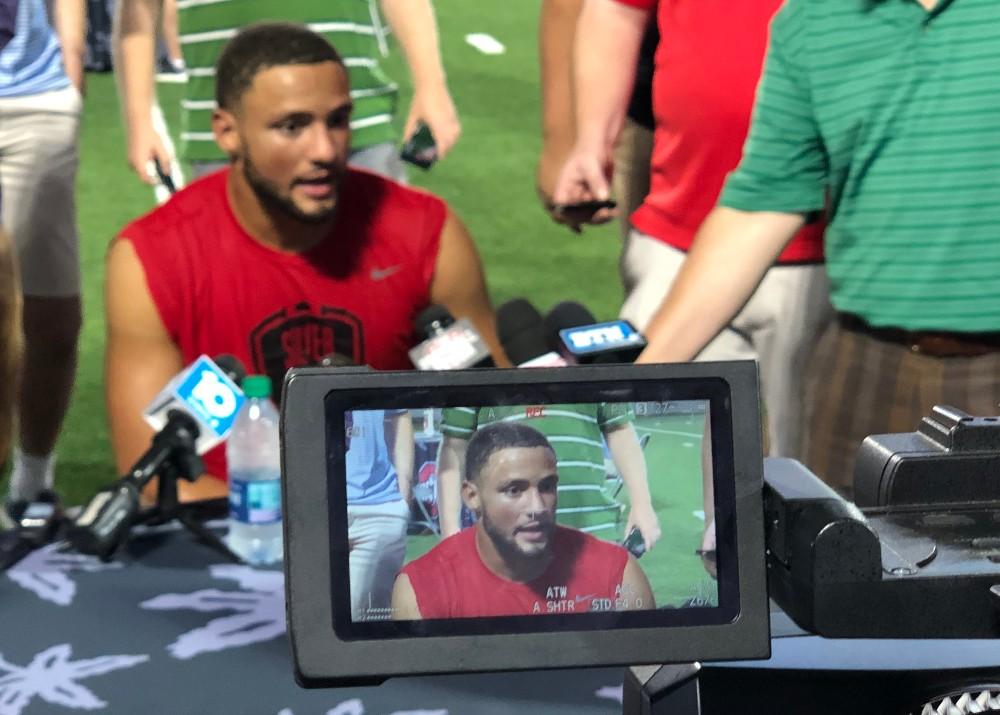 Ohio State football Austin Mack interview