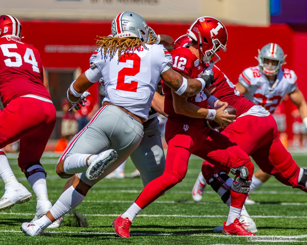 Ohio State football Chase Young Indiana sack
