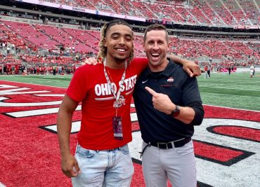 Ohio State football Gee Scott Brian Hartline