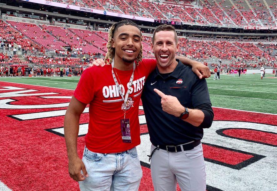 Ohio State football Gee Scott Brian Hartline