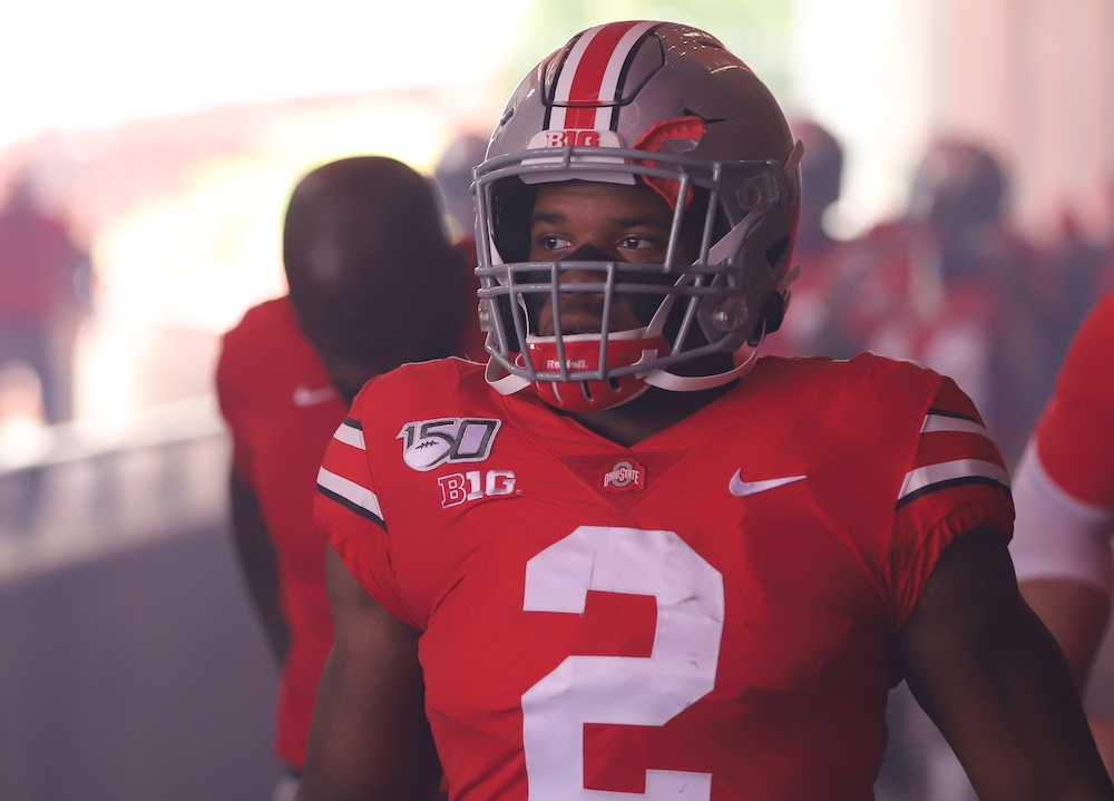 JK Dobbins Ohio State Football Buckeyes