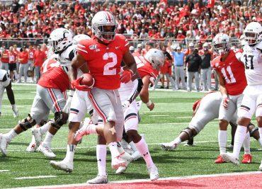 Ohio State football JK Dobbins Touchdown Cincinnati
