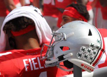Justin Fields Ohio State Buckeyes Quarterback