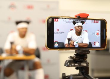 Ohio State football Justin Fields press conference