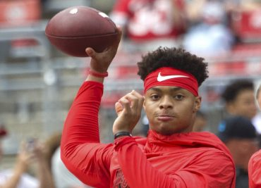 NCAA transfer rule Justin Fields Ohio State football