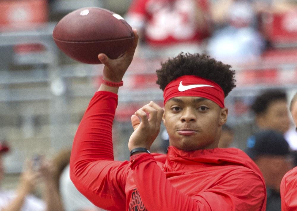 NCAA transfer rule Justin Fields Ohio State football