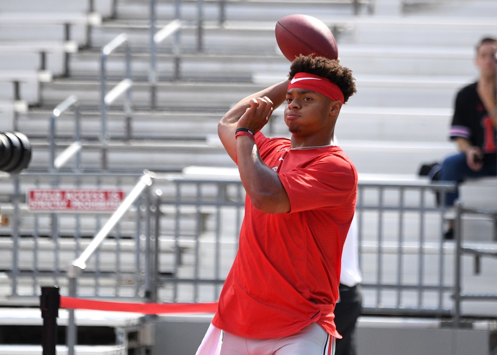 Justin Fields Ohio State Football Quarterback