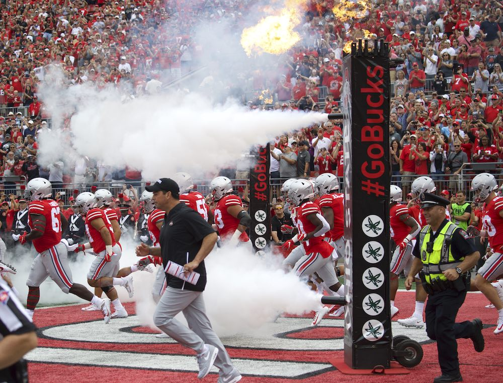 Ohio State Buckeyes football game day Ohio Stadium