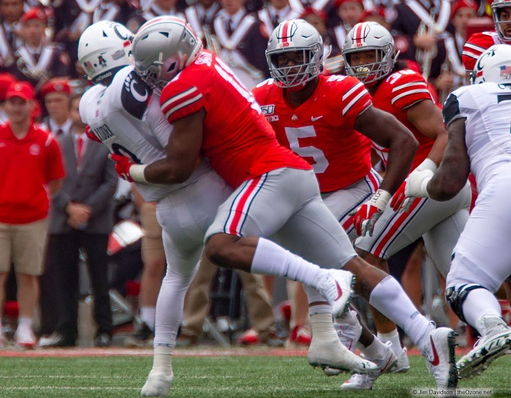 Tyreke Smith Ohio State Buckeyes Defensive End