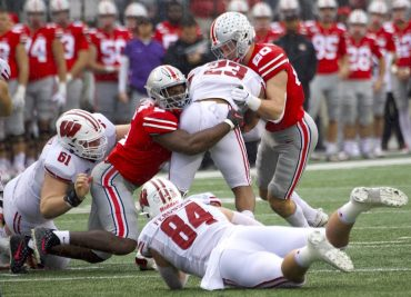 Baron Browning, Pete Werner Ohio State Football Buckeyes Linebacker