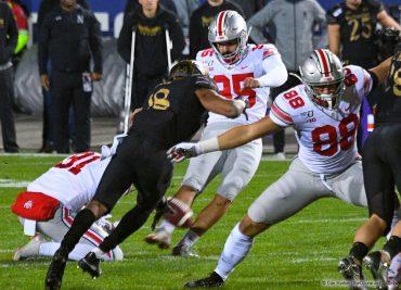 Ohio State football kicker Blake Haubeil