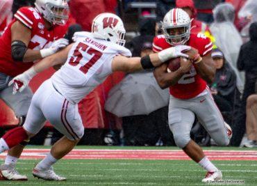 JK Dobbins Ohio State Buckeyes Running Back vs. Wisconsin