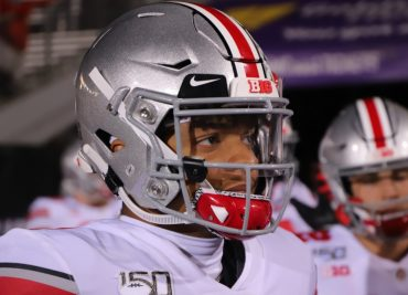 Justin Fields Ohio State Buckeyes Quarterback