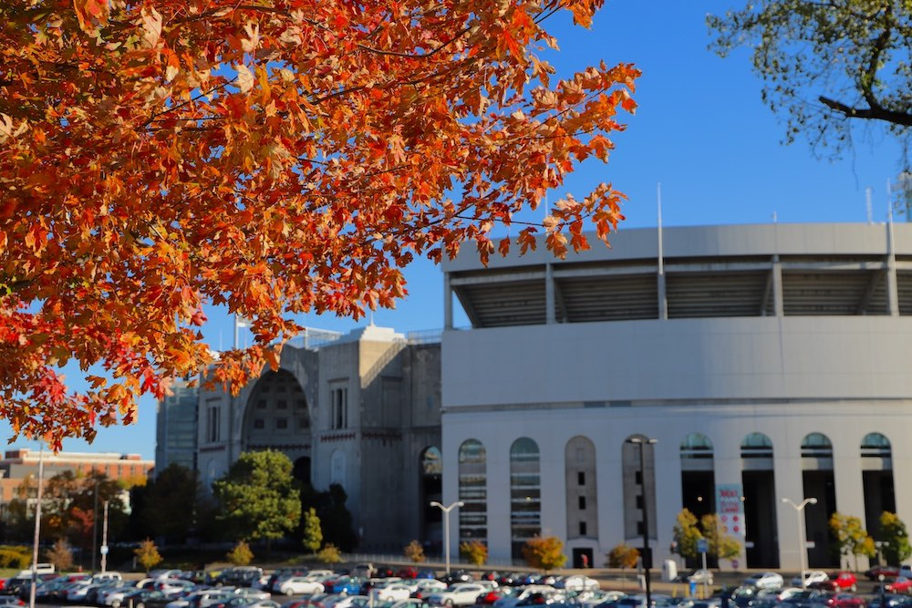 Ohio State University Campus Autumn Columbus