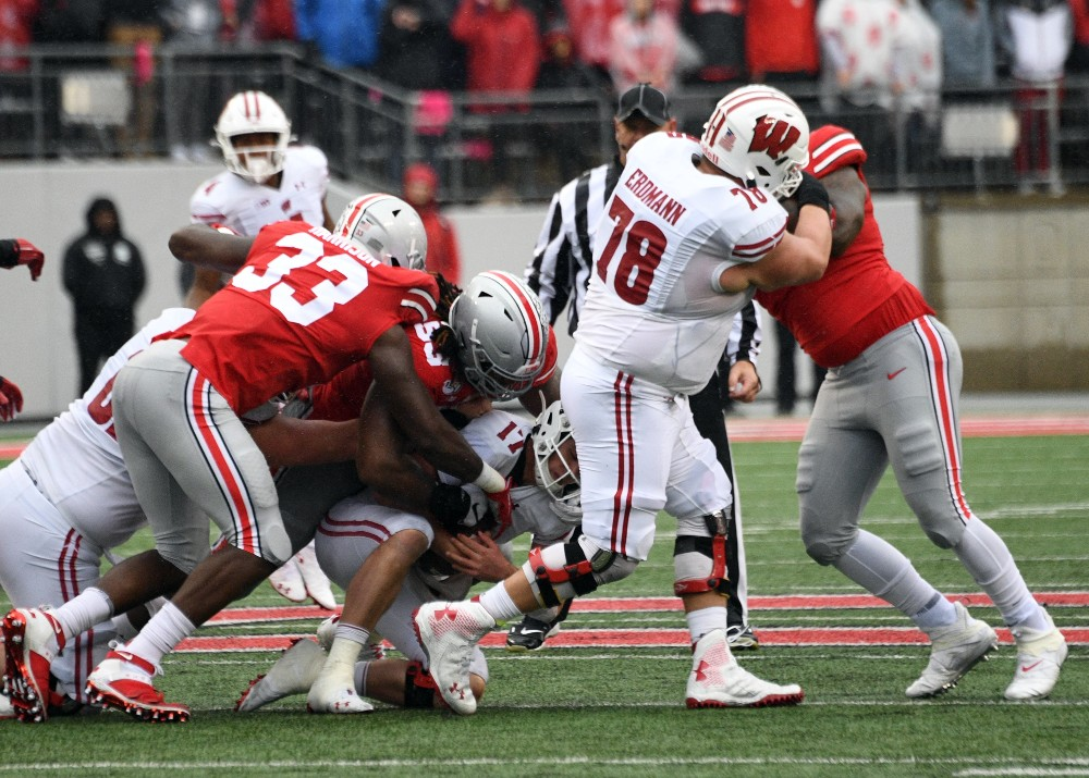Ohio State Zach Harrison Buckeyes Defensive End
