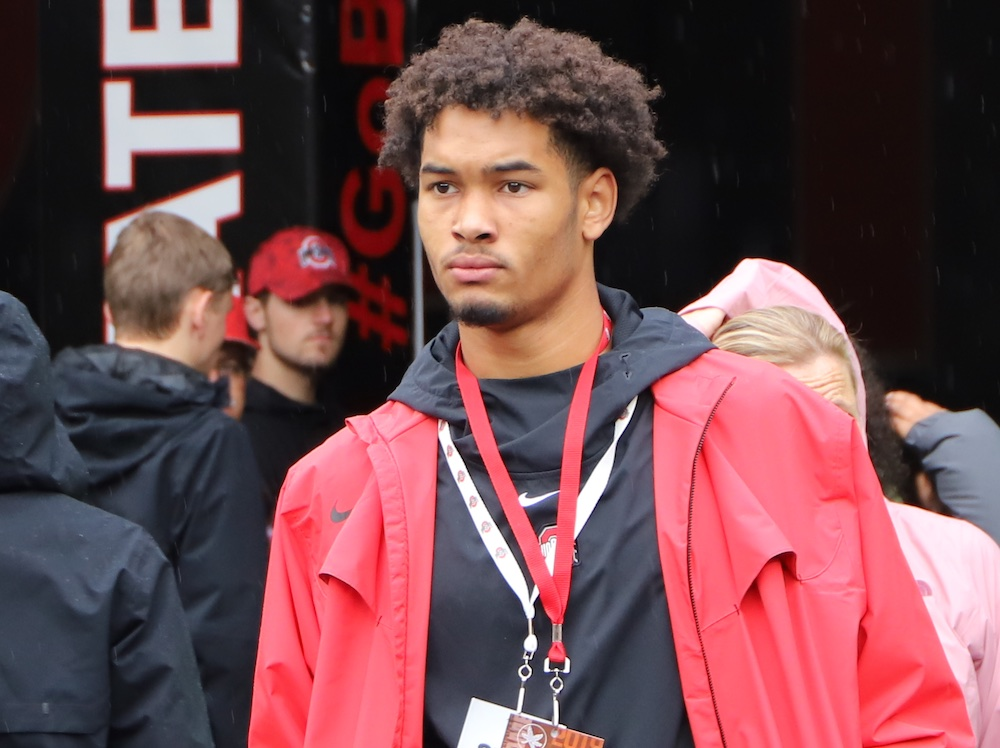 Emeka Egbuka Ohio State Football Wide Receiver Buckeyes Recruiting