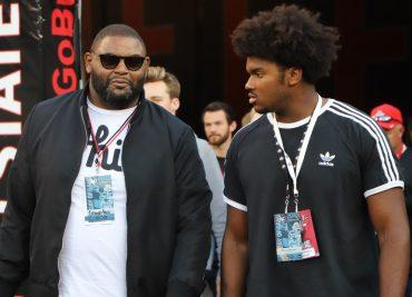 Ohio State recruiting Paris Johnson Orlando Pace