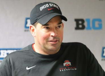 Ohio State head coach Ryan Day