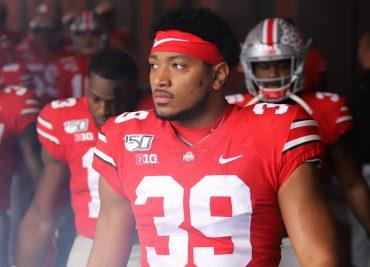 Malik Harrison Ohio State Buckeyes Linebacker