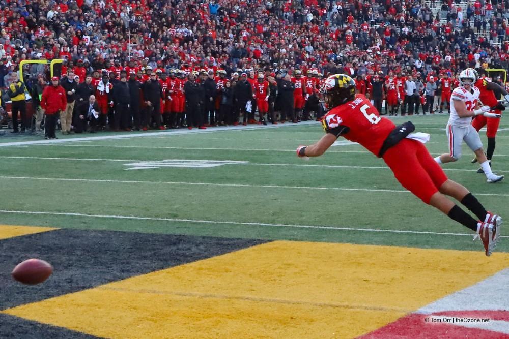 Ohio State Buckeyes football Maryland 2018