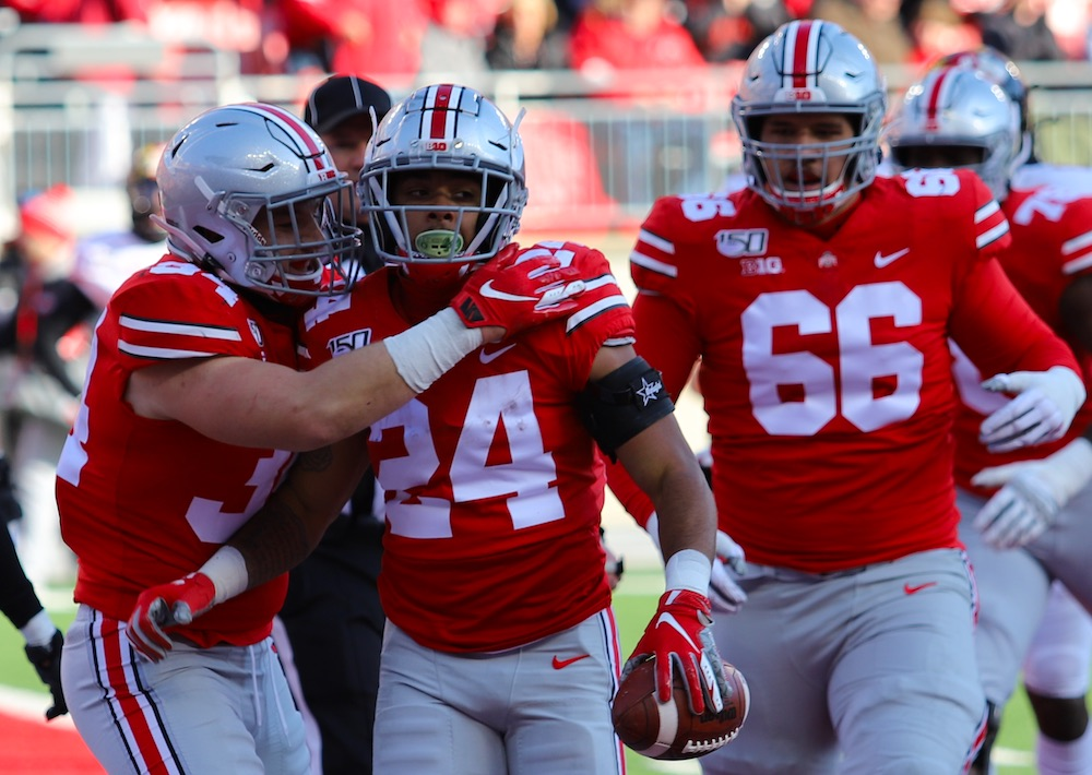 Buckeye Leaves And Peeves From Ohio State S 73 14 Win Over