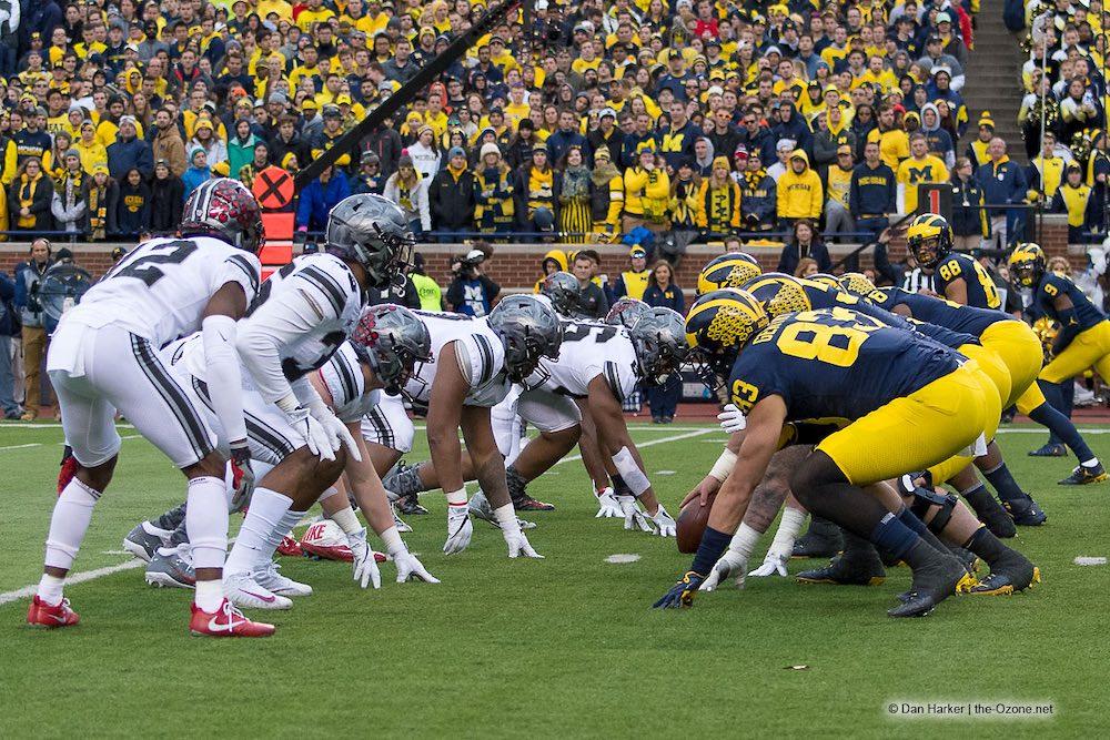 Ohio State Michigan Run The Ball