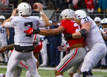 Chase Young Ohio State Buckeye Defensive End