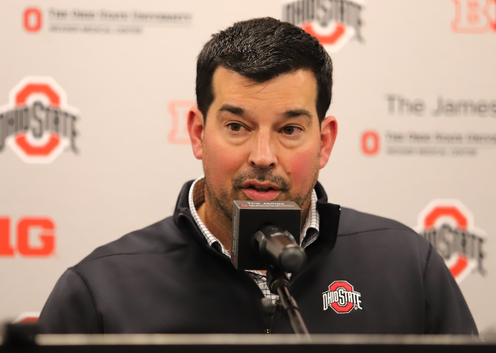 Ryan Day Ohio State Buckeyes