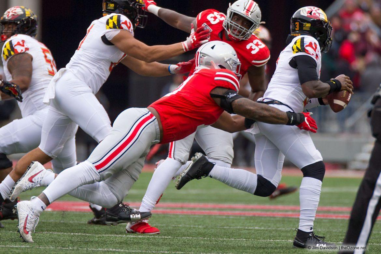 Tyreke Smith, Zach Harrison Ohio State Buckeyes