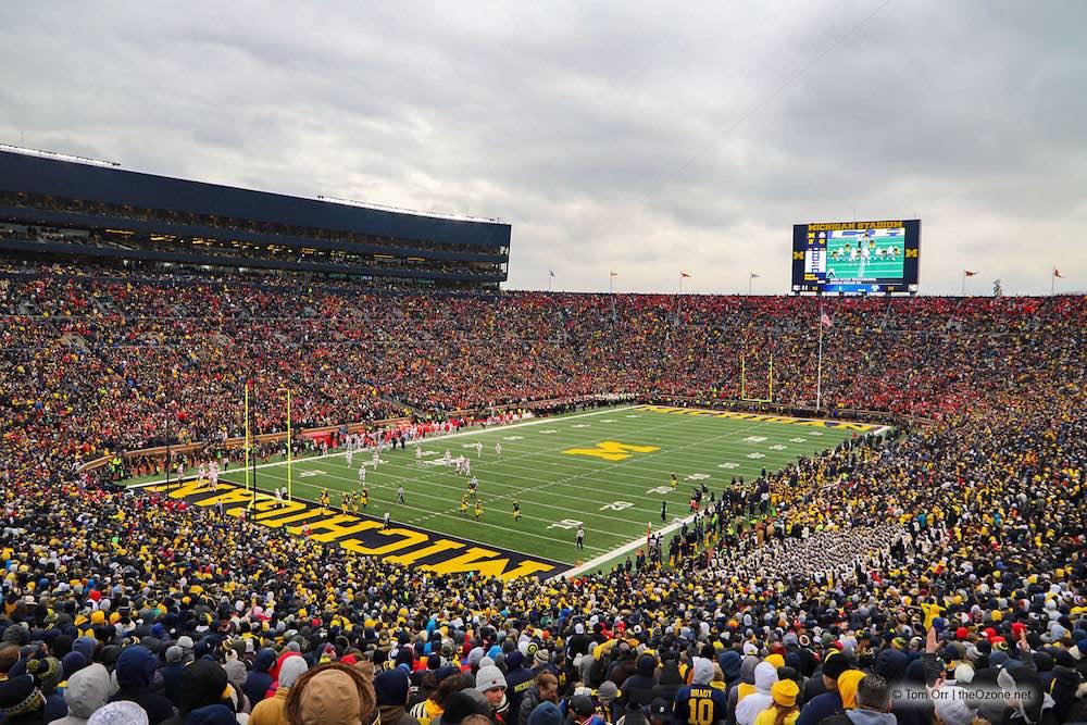 Michigan Stadium Michigan Wolverines football