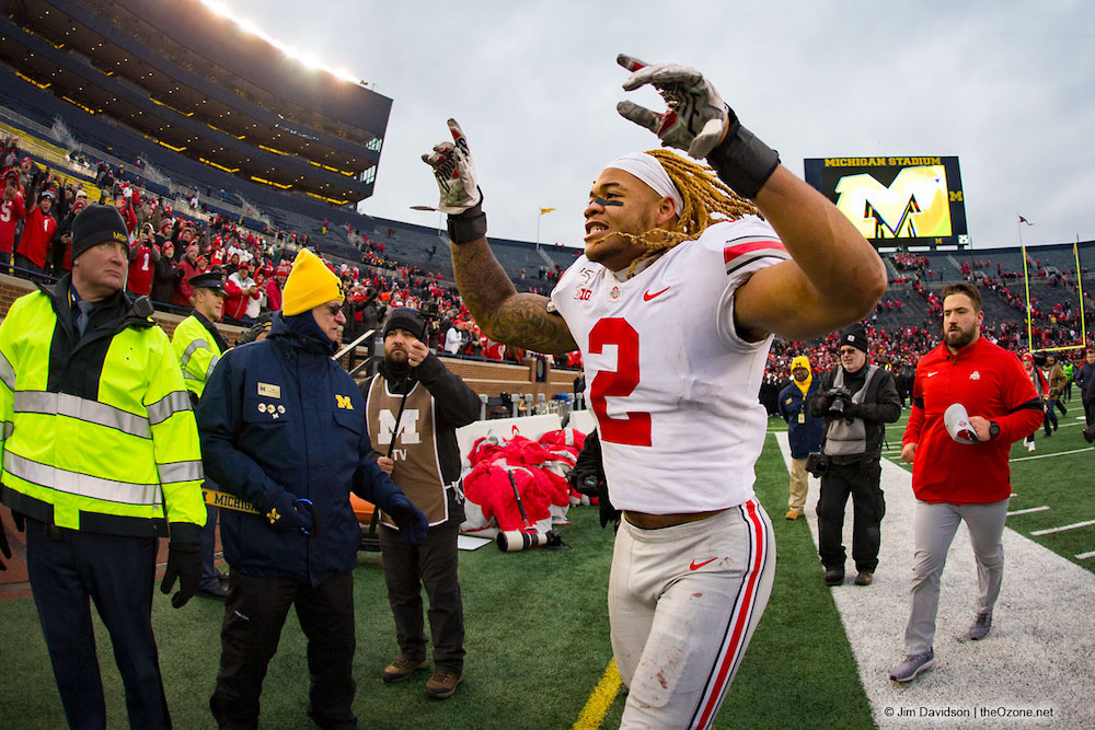Ohio State defensive end Chase Young Michigan