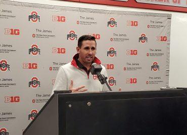 Brian Hartline Ohio State Buckeyes Receivers Coach