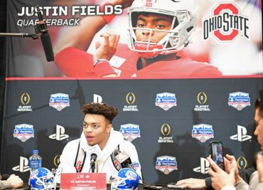 Fiesta Bowl notes Justin Fields baseball