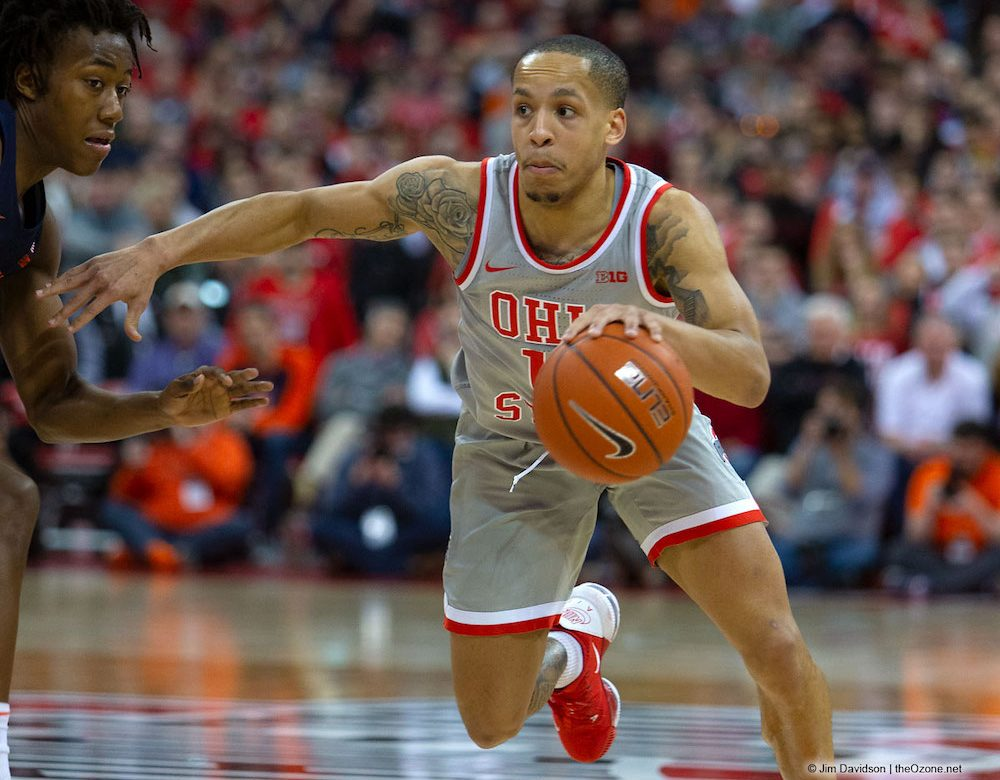 CJ Walker Ohio State Basketball Buckeyes