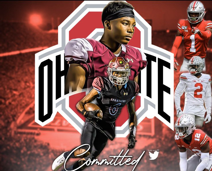 Jakailin Johnson Ohio State Football Buckeyes