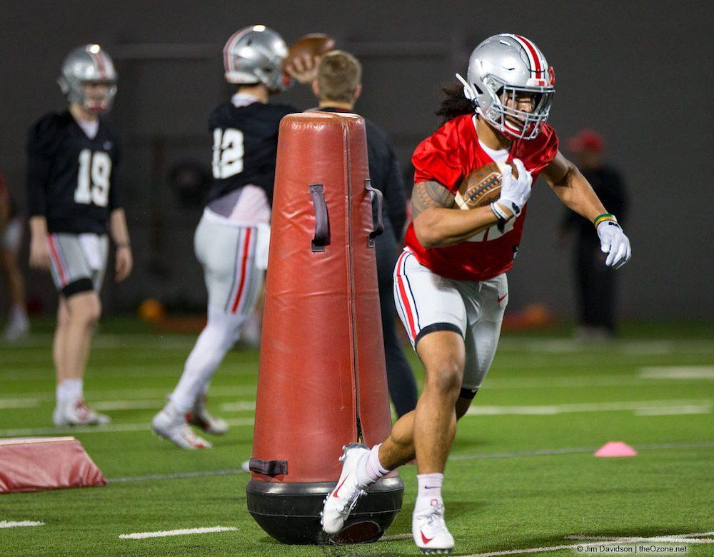 Steele Chambers Ohio State Football Buckeyes Running Back