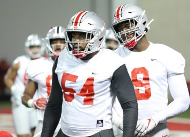 Tyler Friday, Zach Harrison Ohio State Football Buckeyes Defensive End