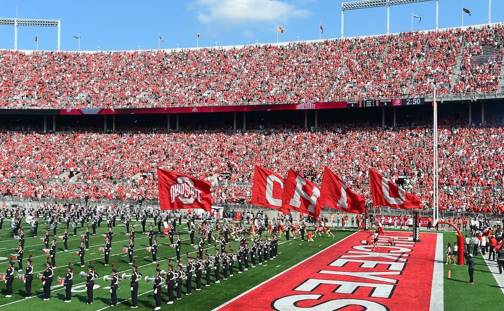 Ohio State football game day Horseshoe