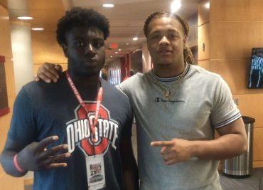 Tunmise Adeleye, Chase Young Ohio State Football Buckeyes