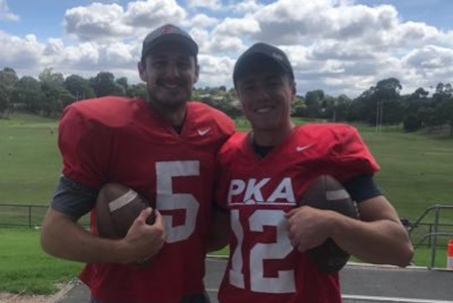 Ohio State football recruiting Jesse Mirco Australian punter