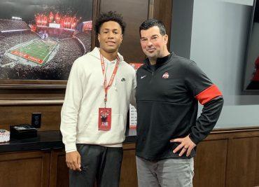 Ohio State football recruiting Jordan Hancock Ryan Day