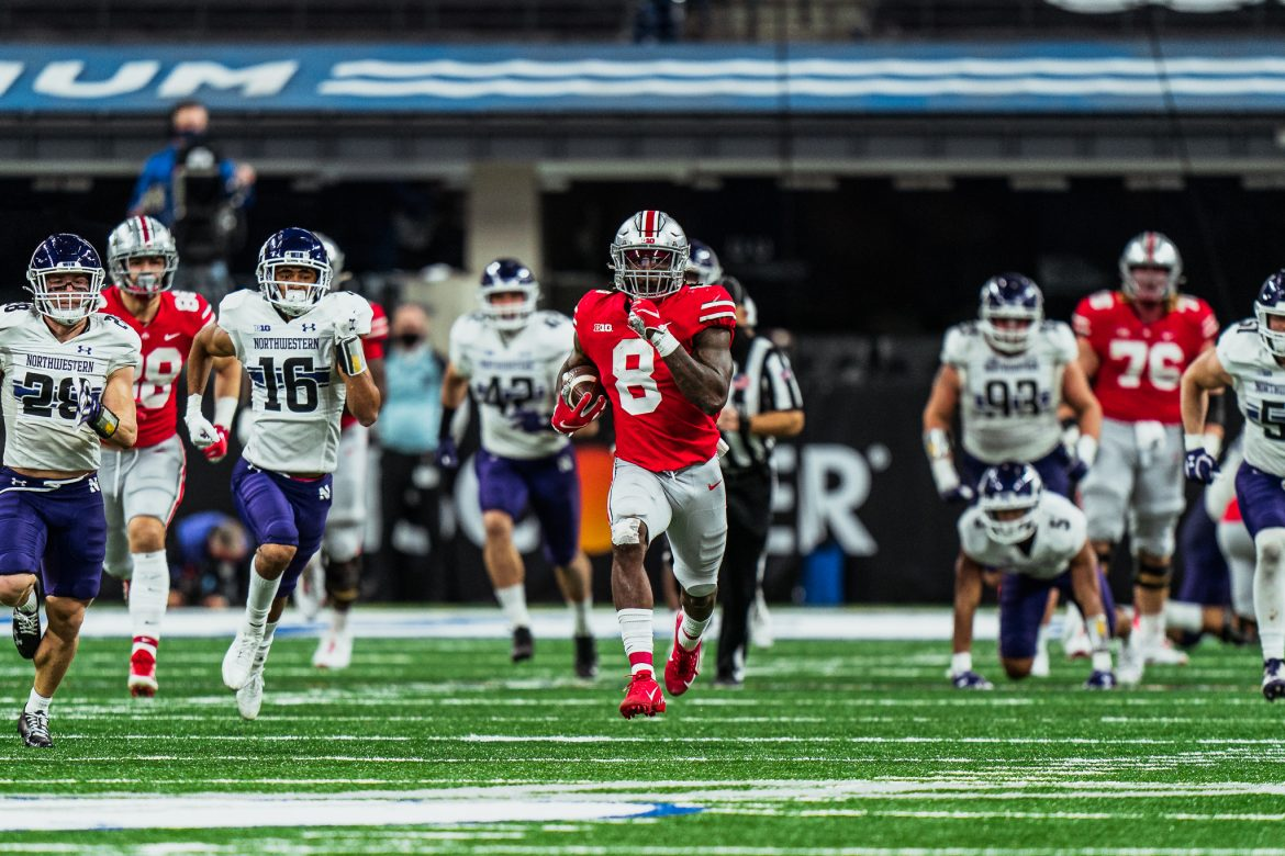 Trey Sermon Was Everything The Buckeyes Needed And More The Ozone