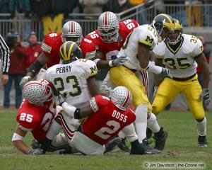 048 David Thompson Donnie Nickey Michael Doss Cie Grant Ohio State Michigan 2002