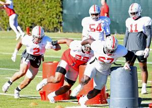 Ohio State football defensive line